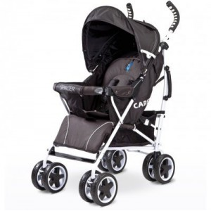 Коляска Caretero Spacer 2017- black