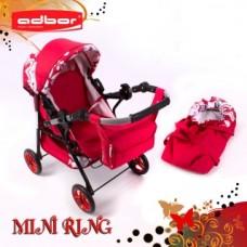 Коляска для кукол Adbor Mini Ring (crimson)