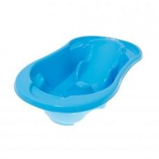 Ванночка Tega Komfort с терм-ом и сливом анатомическая TG-011 light blue paste