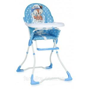 Стульчик для кормления Bertoni MARCEL (blue baby fox)