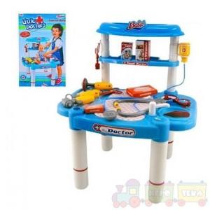 Игровой набор доктора со столиком (008-03)