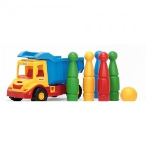 """Грузовик с кеглями """"Multi Truck"""" Wader (32220)"""