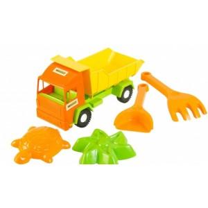 Игрушечный грузовик Mini Truck с набором для песка, 5 элементов (39157)