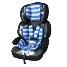 Автокресло Bertoni JUNIOR PREMIUM (9-36кг) (black&blue stars)