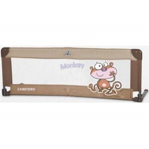 Барьерка Caretero Safari для кровати 120x40 (brown)