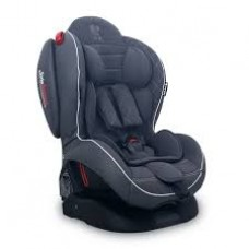 Автокресло Bertoni ARTHUR ISOFIX 0-25кг) (grey leather)