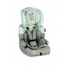 Автокресло Bertoni JUNIOR+ (9-36кг) (grey&green cute bear)