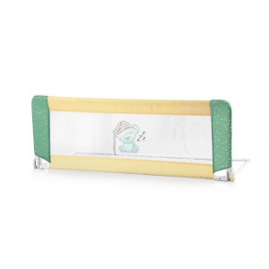 Барьерка на кроватку Lorelli NIGHT GUARD - beige&green sleeping bear