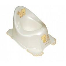 Горшок антискольз. Tega Mis MS-013 white pearl