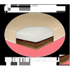 Матрас Sofia Eco 120*60, 10см (лен-бикокос-холлофайбер)
