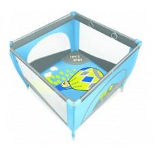 Манеж Baby Design Play Up 03 blue (с кольцами)
