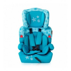 Автокресло Bertoni KIDDY (9-36кг) (aquamarine stars)