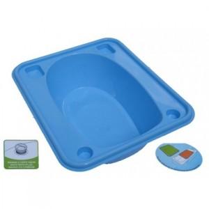 Ванночка Tega прямоугольная (670*780*230) со сливом TG-028 - light blue
