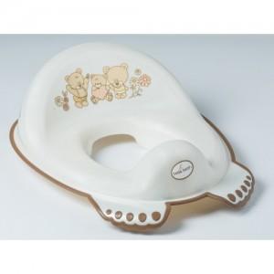 Накладка на унитаз антискольз. Tega Mis MS-016 white pearl