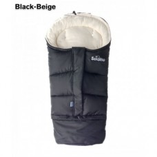 Конверт Sensillo Combi 3в1 Polar 100x80х45 - black/beige