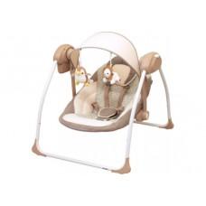 Шезлонг Alexis-Babymix BY012S brown