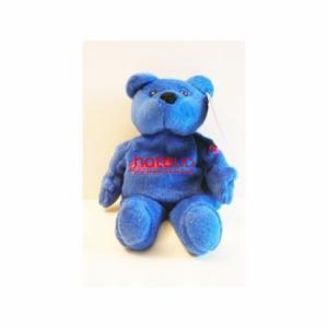 Мягкая игрушка с силикон. шариками Медведь серия звезды NHL