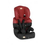 Автокресло Bertoni JUNIOR (9-36кг) (red&black lorelli)