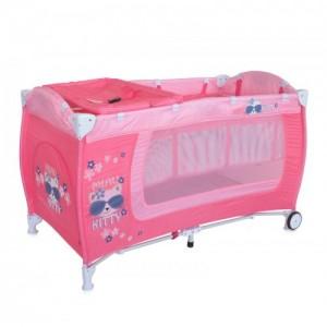 Манеж Bertoni DANNY 2L (pink kitty)