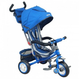 Велосипед 3-х кол. Alexis-Babymix ET-B37-5 (blue)