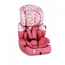 Автокресло Bertoni JUNIOR PREMIUM (9-36кг) (pink&black stars)
