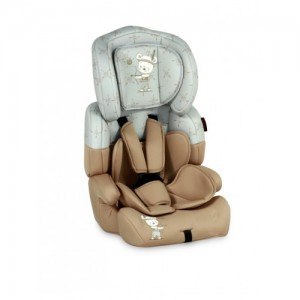 Автокресло Bertoni JUNIOR+ (9-36кг) (beige&grey indian bear)