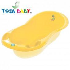 Ванночка Tega прямоугольная (670*780*230) со сливом TG-028 - yellow