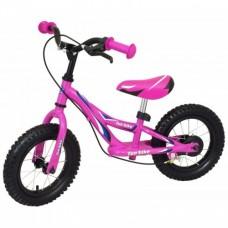 Беговел Alexis-Babymix WB006 pink (надув. колеса)