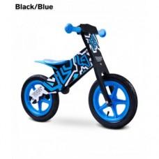 Беговел Caretero Zap (black-blue)
