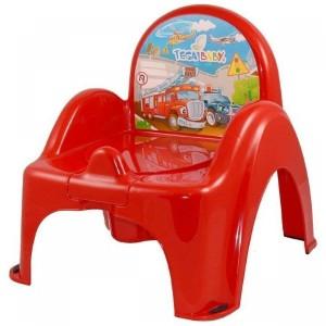 Горшок-кресло Tega Cars CS-007 red