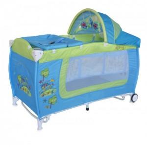 Манеж Bertoni DANNY 2L ROCKER (blue&green car)