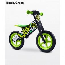 Беговел Caretero Zap (black-green)