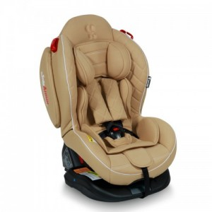 Автокресло Bertoni ARTHUR ISOFIX 0-25кг) (beige leather)