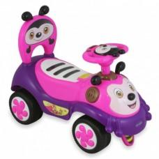Машинка-каталка Alexis-Babymix 7625 (pink)