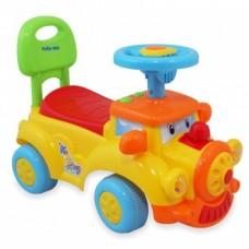Машинка-каталка Alexis-Babymix HZ-556 (yellow)