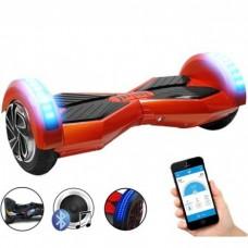 "Гироборд SMART 8 red, колеса 8"", до 120кг, (пульт ДУ, Bluetooth)"