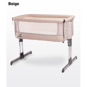Кроватка Caretero Sleep2gether (beige)