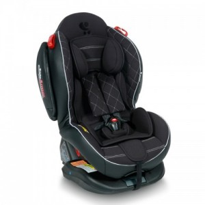 Автокресло Bertoni ARTHUR ISOFIX 0-25кг) (black leather)