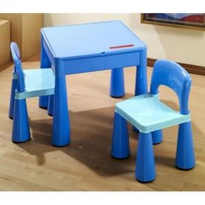 Комплект Tega MAMUT стол+2 стула MT-001 899 blue/light blue