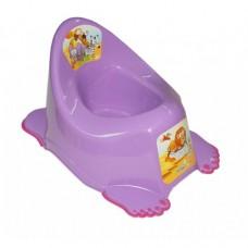Горшок антискольз., муз. Tega Safari PO-045 violet