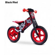 Беговел Caretero Zap (black-red)