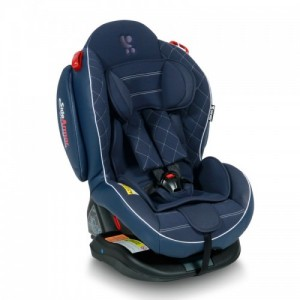 Автокресло Bertoni ARTHUR ISOFIX 0-25кг) (dark blue leather)