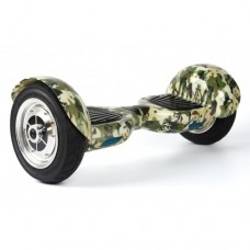"Гироборд SMART 10 military green, колеса 10"", до 120кг, (пульт ДУ, Bluetooth)"