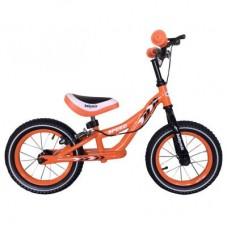 Беговел Alexis-Babymix WB999P orange (надув. колеса)