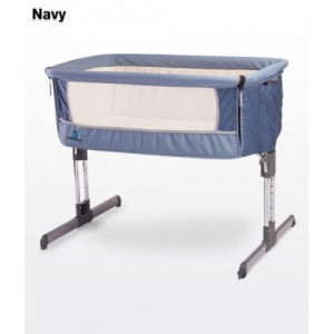 Кроватка Caretero Sleep2gether (navy)