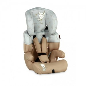 Автокресло Bertoni JUNIOR (9-36кг) (beige&grey indian bear)