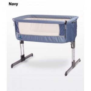 Кроватка Caretero Sleep2gether (navy)