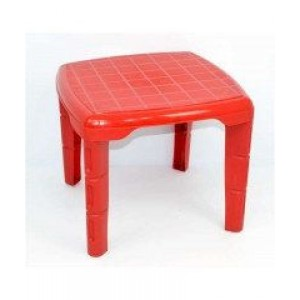 Стол квадратный Консенсус красный
