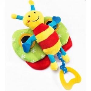 Игрушка Sensillo Бабочка с прорезывателем (23382)