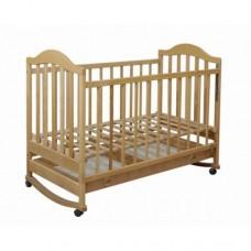 Кроватка Laska-M Наполеон с ящиком (тонированый)